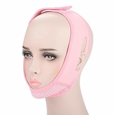 Face Slim Belt, Facial Lifting Slimming Belt V Face Chin Cheek Lift Up Mask Neck Compression Double Chin Remove Belts Lifting Firming