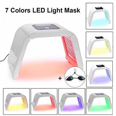 7 Color LED Light Mask Portable Photon PDT Acne Therapy Wrinkle Removal Anti-aging Skin Rejuvenation Facial Care Beauty Machine for Home Salon Use