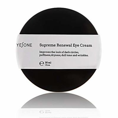 Yesone Supreme Renewal Natural Eye Cream for Lines Wrinkles and Dark Circles Anti Aging Under Eye Treatment Bags Under Eyes Puffy Eyes Reducer for All Skin Type