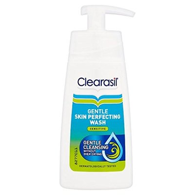 Clearasil (Pack Of 2) Daily Clear Skin Perfecting Wash (sensitive) X 150ml