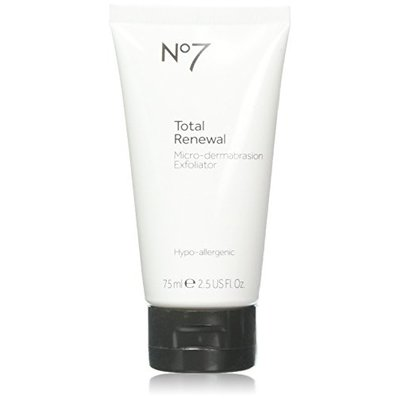 Boots No7 Total Renewal Micro-Dermabrasion Exfoliator,2.5 Fl. Oz(75 ml) by Boots