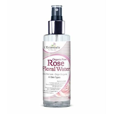 Pure Rose Water Facial Toner Hydrosol by L'Essentielle Organic 150ml