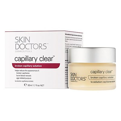 Skin Doctors Capillary Clear, Helps improve the appearance of broken capillaries, Reduces the appearance of burst blood vessels, help to reduce facial redness and promote an even complexion – 50ml
