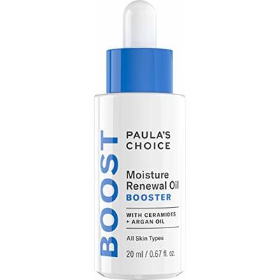 Paula's Choice Moisture Renewal Oil Booster – Anti Aging Hydrating Facial Serum for Smooth, Soft & Calm Skin – with Argan & Jojoba Oil – Dry to Very Dry Skin – 20 ml