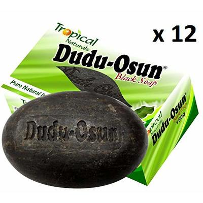Dudu Osun Tropical Pure Natural African Black Soap – Pack of 12