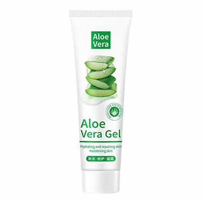 Aloe Vera Gel Cold-pressed Ultra Hydrating Skin Soothing Aloe Gel For Face Body After-Sun Care Repair for Men Women