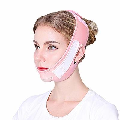 Face Slimming Belt, Women V Face Chin Lifting Facial Belt, Anti-wrinkle Tighten Skin Face Tool, Ultra-thin Strap Band Shaping Face Line Belt Strap, Breathable Elastic Beauty Face Belt