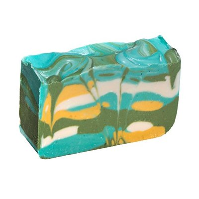 Green Tea Soap Bar – Organic Herbal Bar With Therapeutic Essential Oils. Moisturizing Body Soap For Skin And Face. With Shea Butter, Coconut Oil And Glycerin 4 OZ Soap Bar