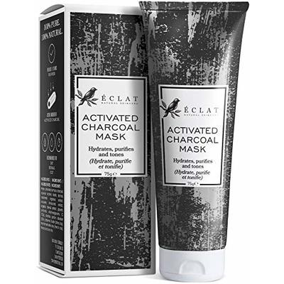 *SPECIAL LAUNCH OFFER* PREMIUM Charcoal Face Mask for Men & Women – Activated Peel-Off Bamboo Mask for Blackhead Removal for Nose/Cheek/Chin – GMP-Certified/Dermatologist Recommended