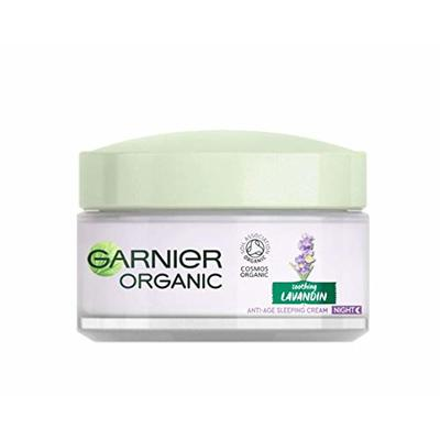Garnier Organic Lavandin Anti-Age Sleeping Cream, 50 ml 3600542325370