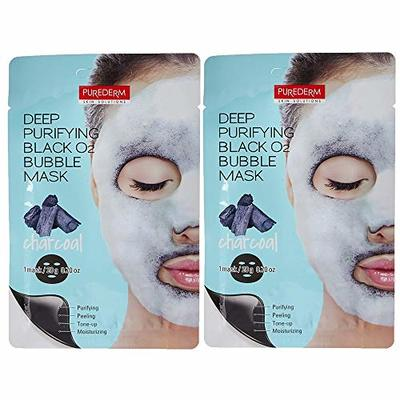 Purederm – Deep Purifying Black O2 Bubble Mask (Pack of 2)