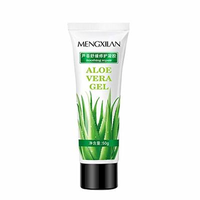 Aloe Vera Gel Pimple Treatment Anti Acne Moisturizing Gel Hydrating Repair Oil Control Moisturizer Repairing Face Sun Repair Anti-inflammatory Anti-Drying, Soothing Cooling 50g