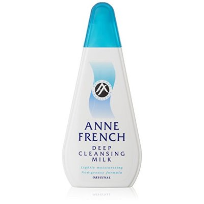 Anne French Deep Cleansing Milk Original 200 ml – Pack of 3
