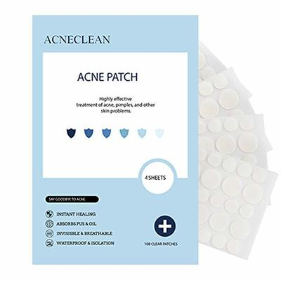 Acne Pimple Master Patches Spot & Blemish Treatment Stickers Invisible Hydrocolloid Patches (144 patches)