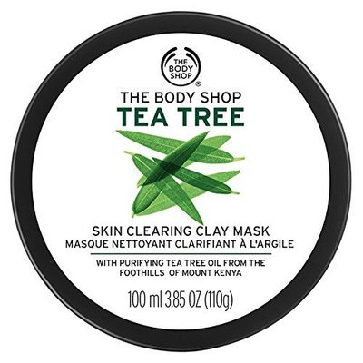 The Body Shop Tea Tree Skin Clearing Clay Mask – 100ml