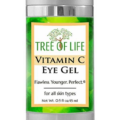 Vitamin C Eye Moisturizer Gel for Face and Skin (.5 Ounce)