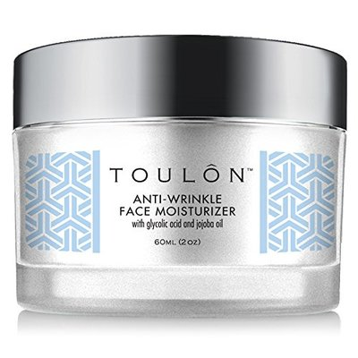 Glycolic Acid Creme 10% Face Moisturiser. Best Alpha Hydroxy Acid Products for Night & Day; Anti Ageing Moisturiser – Exfoliating, Anti-Wrinkle Lotion with AHA for Acne Prone Skin; Natural Exfoliator