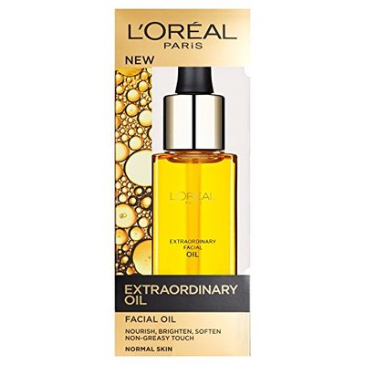 L'Oreal Paris Extraordinary Oil Nourishing Facial Oil with Essential Oils for Normal Skin 30 ml