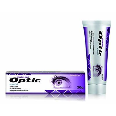 Pharmacy Laboratories Optic Eyelid Ointment | 20g | Indicated for Chalazion, Stye, Edema & Irritation | Soothes Itching & Pain | Regenerates & Protects Sensitive Skin