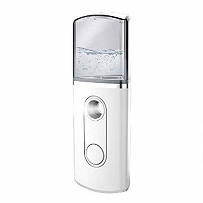 Nano Facial Mister Cool Mist Sprayer, Portable Handy Facial Sprayer Spray Hydrating Apparatus USB Rechargeable for Deep Cleaning and Skin Care