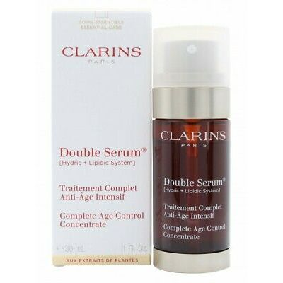 CLARINS ANTI-AGEING FACE DOUBLE SERUM – WOMEN'S FOR HER. NEW. FREE SHIPPING