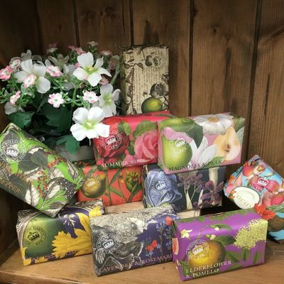 English Kew Garden Luxury Shea Butter Soap Collection Available in 17 Fragrances