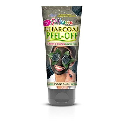 7th Heaven Montagne Jeunesse Charcoal Peel Off Mask 100ml with Witch Hazel and Birch Leaf for Easy Cleansing and Soothing