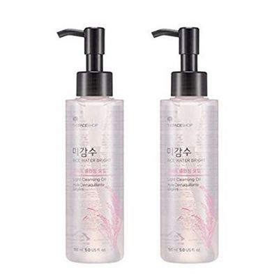 [THE FACE SHOP] Rice Water Bright Cleansing Oil-150mL ( Light / Rich )