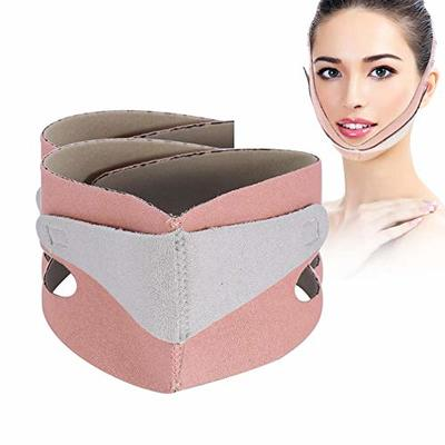 V Face Shaper, 1 pcs Slimming Face Mask Chin Support Wrap Cheek Lifting Belt Free From Double Chin FOR V Shaped Face