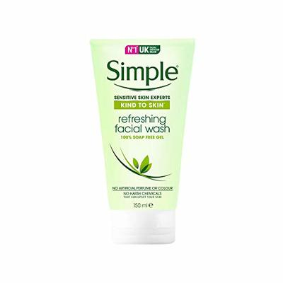 Simple Kind To Skin Refreshing Facial Wash 150ml