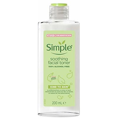 Simple Kind To Skin Soothing Facial Toner 200ml Case of 6
