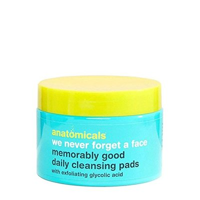 Anatomicals We Never Forget A Face Memorably Good Daily Cleansing Pads