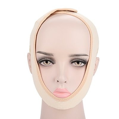 V Line Mask, Face Slimming Double Chin Strap, Face Lift Band, Weight Loss Belts, Skin Care Chin Lifting Firming Wrap