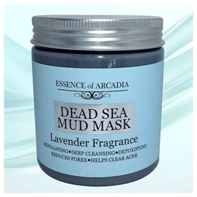 Dead Sea Mineral Mud Mask Scented with Lavender – 100% Natural Minerals – Minimi