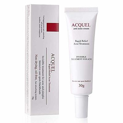 Acne Blemish Spot Treatments Acne Cream Acne Scar Removal Cream with Salicylic Acid Acne Pimple Cream Gel for Adults and Teens, 1 oz