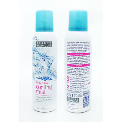 BEAUTY FORMULAS BODY AND FACE COOLING MIST 150ml