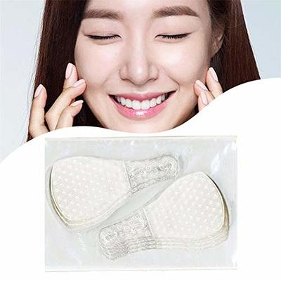 120Pcs Invisible Face Lift Tape V-Shape Thin Face Stickers Facial Line Wrinkle Flabby Skin Tape for Instant Face Neck and Eye Lift Kit
