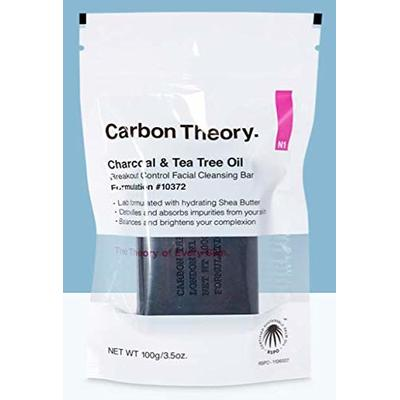 Carbon Theory Charcoal & Tea Tree Oil Break-Out Control Facial Cleansing Bar.