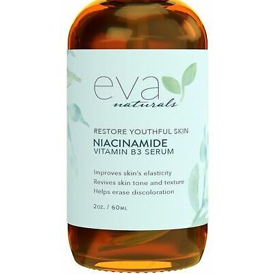 Niacinamide 5% Serum by Eva Naturals (2 oz) – Vitamin B3 Anti-Aging Skin Mois…