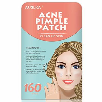 Acne Pimple Master Patch, Acne Spot Treatment, Hydrocolloid Acne Dots for Face(160 Patches), Tea Tree Oil, Zit Patches