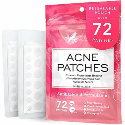 ?????? ??/????* ???????? Acne Patches – 8X MORE POWERFUL with VEGAN Hydrocolloid – 3X MORE PATCHES (72pk.) with ANTI-BACTERIAL TWEEZERS – DERMATOLOGIST DEVELOPED
