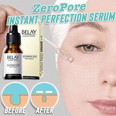 Pore Corset Serum | Zero Pore Instant Perfection Serum | Optimal Hydration Balance | Nourishes & Moisturize | Fix Wrinkle & Pore Vanisher | For All Skin 10 ml (10ml*1)