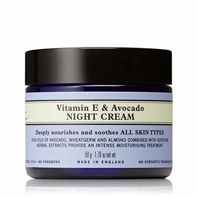 Neal's Yard Remedies Soothing For Sensitive Skin Vitamin E & Avocado Night Cream 50g