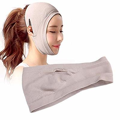 Face Lifting Slimming Mask Bandages, Thin Face V Face Thin, Firming Facial with massage silicone pad, V-line Belt Facial Mask, Facial Double Chin Care Face Belts for Lift Face Belt Tighten Skin