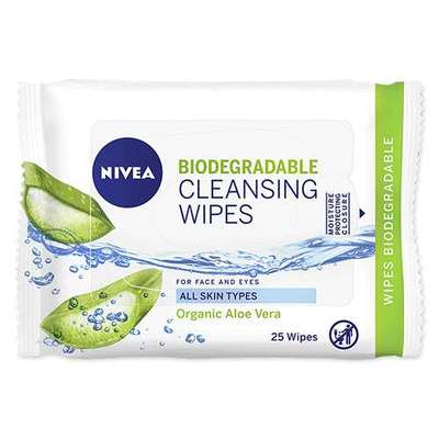 Nivea Biodegradable Cleansing Wipes 25