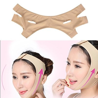 Face Firming Mask, Face Lift Mask, Face Slimming Belt, Face Lifting Slimming Bandage Firming Facial With Massage Silicone Pad, V-Line Belt Facial Mask(XL)
