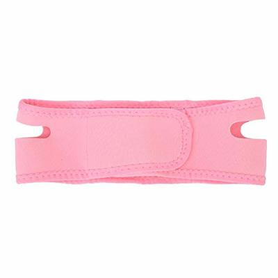 Facial Slimming Strap, V Face Line Belt Breathable Chin Lift Up Anti Wrinkle Sleep Mask Belt for Face Care Thin Neck Facelift Double Chin(Pink)