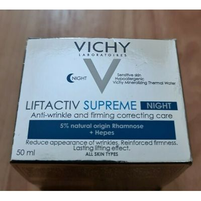 Vichy Liftactiv Supreme NIGHT Anti-Wrinkle & Firming Correcting Care -50ml n