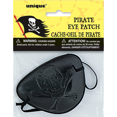 Unique Party 12728 – Pirate Eye Patch Party Accessory