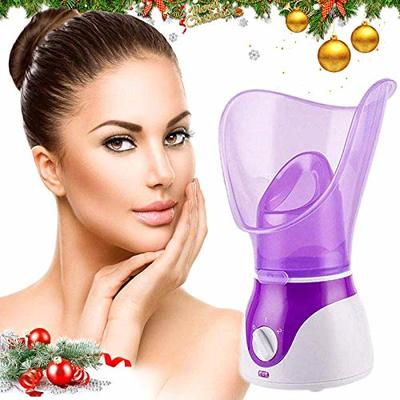 Facial Steamer,Professional Spa Home Facial Steamer Sauna Pores Cleanse-BPA Free Warm Mist Moisturizing Humidifier-Leakproof-Temp Control-Fast Steam Sprayer for Skin Rejuvenate Hydrate Face Steamer